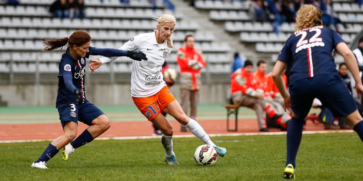 Finale Coupe de France. (c) Anthony Massardi / Laure Boulleau face à Sofia Jakobsson. Lesfeminines.fr-