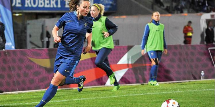 Lesfeminines.fr France-Tchécoslovaquie 2-0. Gaetane Thiney