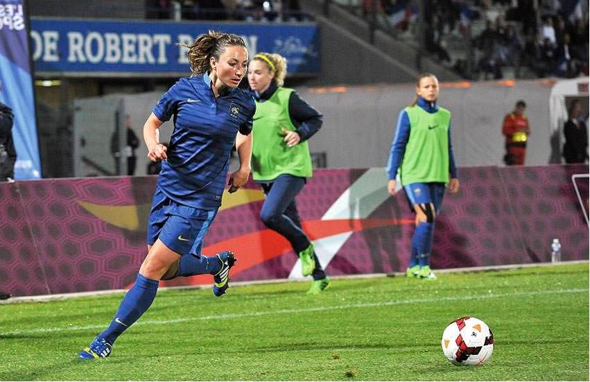 France – Chine. Match amical. Il est certain qu'on aura à l'esprit l'absence de Gaetane Thiney.