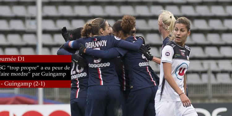 lesfeminines.fr PSG Féminines - EA Guingamp