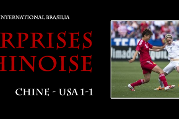 Chine-USA (1-1) Tournoi international Brasilia