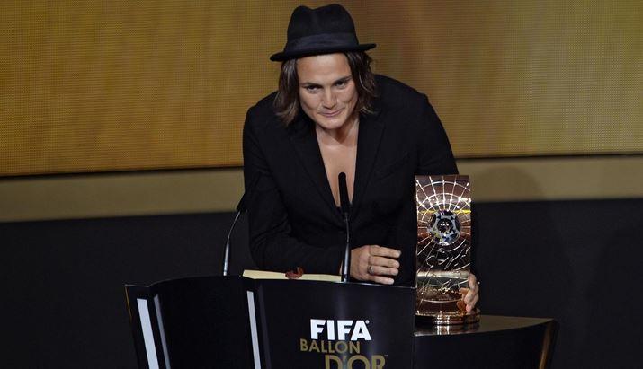 Les dix meilleures joueuses Fifa 2013 – Nadine Angerer gagnante.