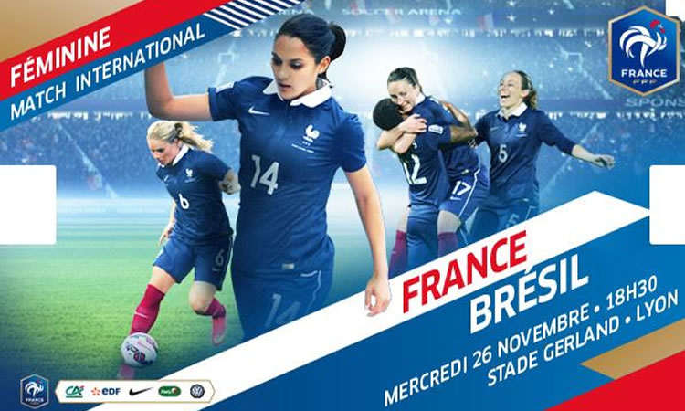 [VIDEOS] Extraits France-Brésil (2-0)