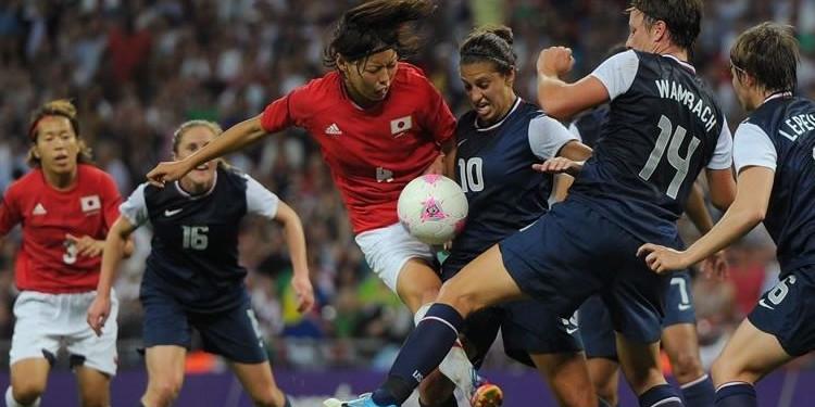Japon-USA-finale Olympique (1-2). Crédit FIFA
