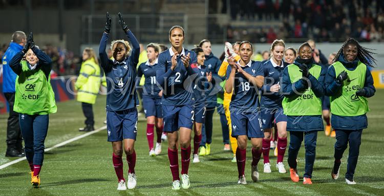 France-USA (2-0) Victoire historique des françaises face au 2ème mondial logiquement battues