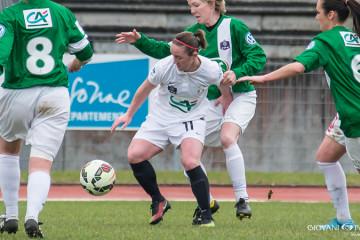D2F. Julie Machart, quand elle jouait pour Juvisy. Crédit Gianni Pablo #lesfeminines.fr