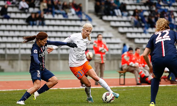 D1f – PSG Montpellier. Les Retour des surdouées de Montpellier ou la force dominatrice du PSG.