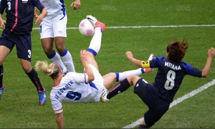 Vidéos : France japon, Tournoi de l'Algarve. Victoire française 3-1 après avoir été mené 0-1