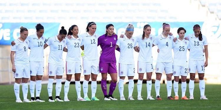 football feminin- la-victoire-est-une religion pour les USA. Lesfeminines.fr