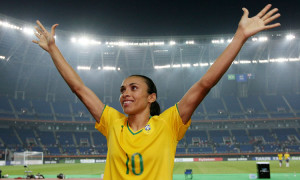 Le Brésil veut revivre la période faste 2003-2007 mais est très dépendante de Marta. Les feminines.fr Crédit Fifa.