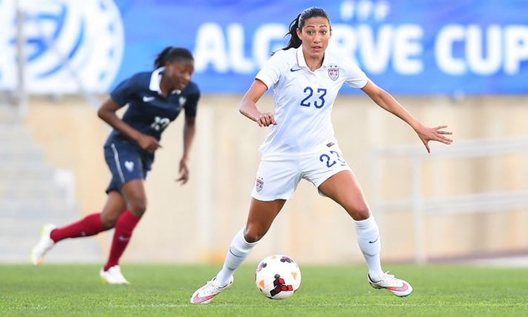 football féminin en videos : finale tournoi de l'Algarve. France USA (0-2)