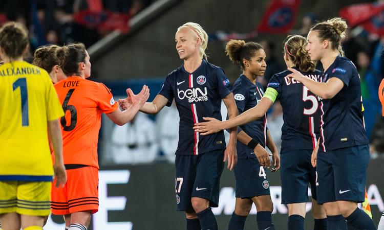 Le Paris Saint Germain sollicite une clémence égalitaire auprès de l'UEFA pour Caroline Seger