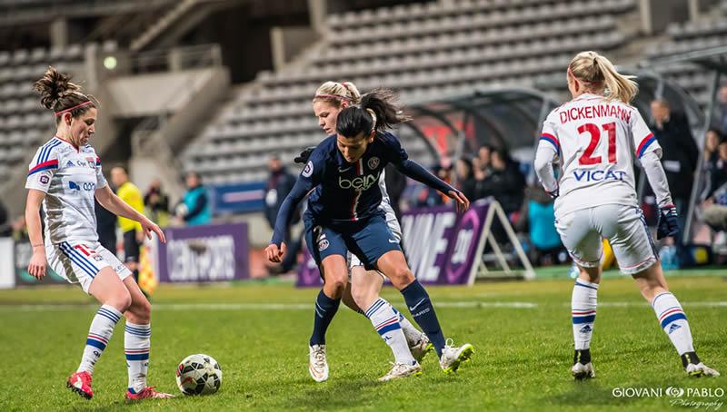 Un pari risqué pour les joueuses. Elise Bussaglia et Lara Dickenmann à Wolfsburg. Coup dur pour les féminines lyonnaises.