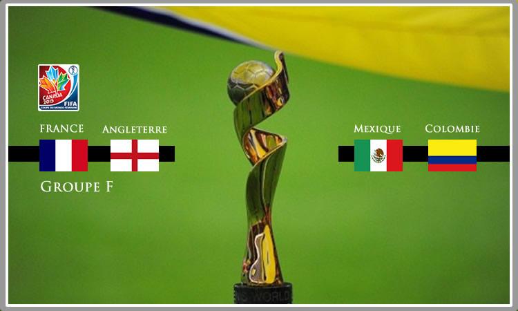 Groupe F. Coupe du Monde féminine de football.