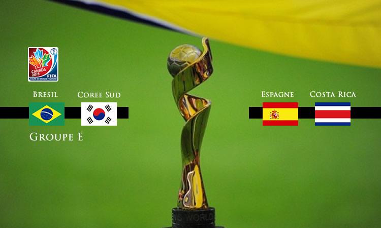 Groupe E de la Coupe du Monde de Football 2015. Lesfeminines.fr