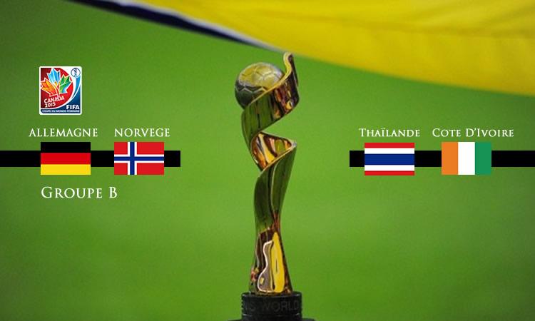 Groupe B de la Coupe du Monde 2015. Lesfeminines.fr