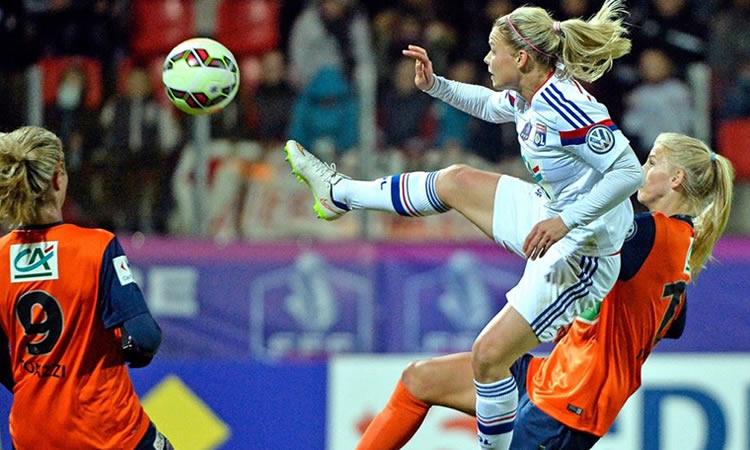 Montpellier Hsc – Ol. Lyonnais (1-2) : une des finales la plus indécise depuis longtemps.