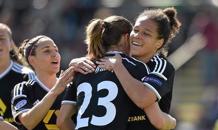 Demi-finale aller Women's Champions League  (7-0) : la punition allemande de Frankfurt