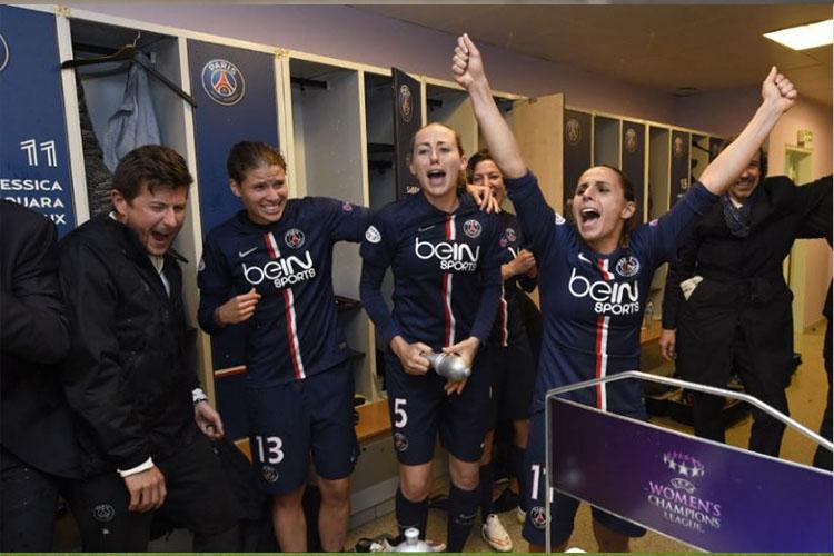 Women's Champions League 2015. La France joue une très belle carte européenne avec l'Ol et le PSG