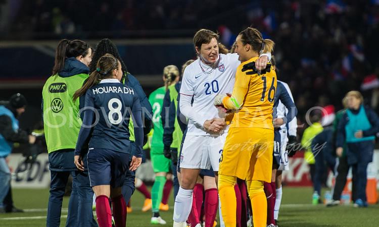 #SHEBELIEVESCUP Vidéo de la victoire française (2-0) à Lorient face aux USA