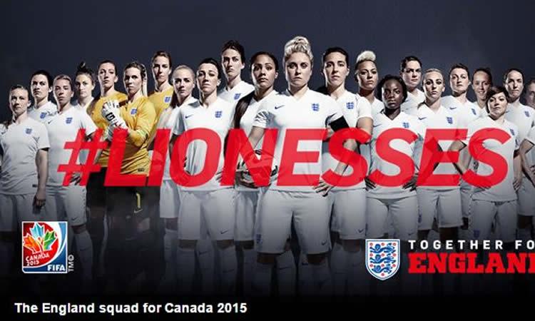 Les Lionesses – L'ambition anglaise n'a pas de limite, elles veulent gagner le Tournoi.