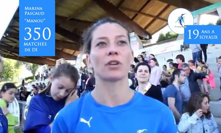 Soyaux-Charente. 19 ans après, Marina Pascaud a joué son dernier match avec son club.