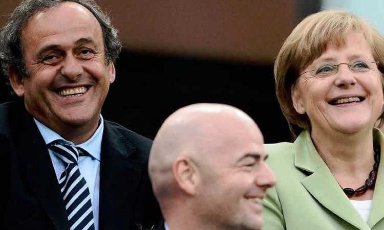 PSG – FRANKFURT – Finale Ligue des Champions : on attend 12 millions de téléspectateurs et Platini-Merkel
