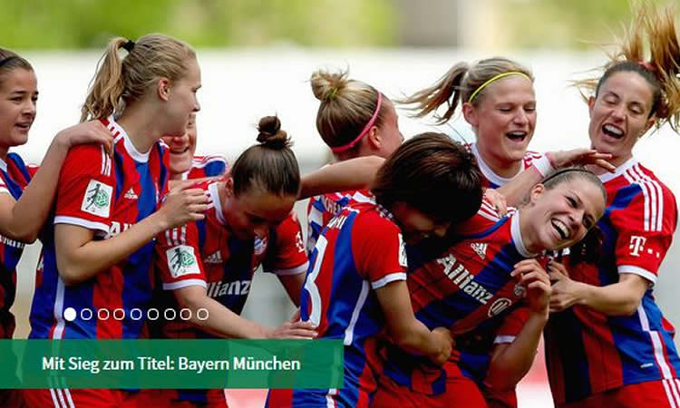 Bundesliga – 22ème Journée – Le doublé (H-F) pour le Bayern de Munich, Wolfsburg a deux doigts de la 3ème place.