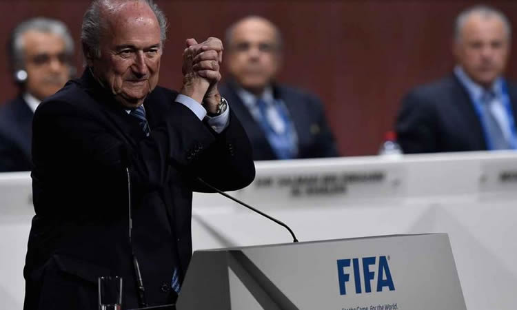 Joseph Blatter, Cinq fois champion du Monde de la FIFA