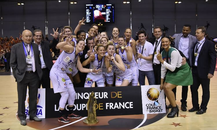 Basket-Finale Coupe de France. Bourges finit sans force (60-60) quand Montpellier finit avec force (76-69)