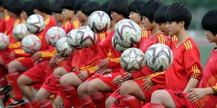 Equipe de Chine. Lesfeminines.fr