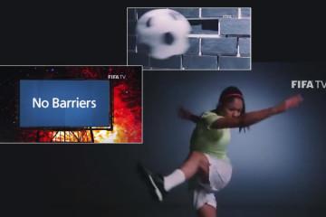 Clip videos de la FIFA pour promouvoir le football féminin. Lesfeminines.fr
