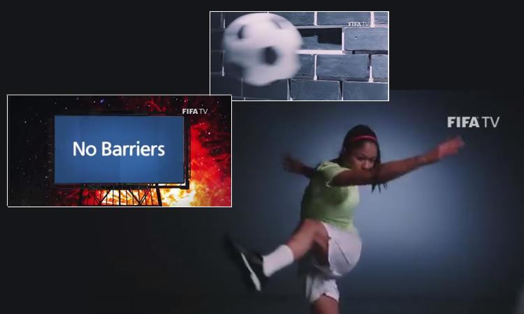 «Aucune Barrière» La FIFA s'engage à faire rêver avec le football féminin.