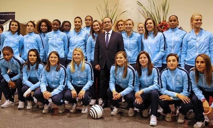 EDF [F] – Groupe F – L'Équipe de France rencontre Hollande avant de partir au Canada