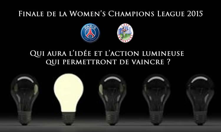 Women's Champions League : Une finale où chacun veut donner l'étiquette de favori à l'autre