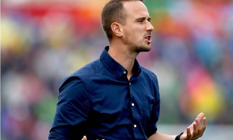 Mark Sampson. Coach de l'Angleterre. Crédit FIFA. Lesfeminines.fr