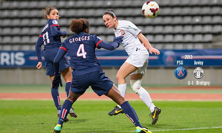 Sandrine Bretigny : marquer contre l'Allemagne et qualifier la France : ce sera le plus beau moment d'une carrière.