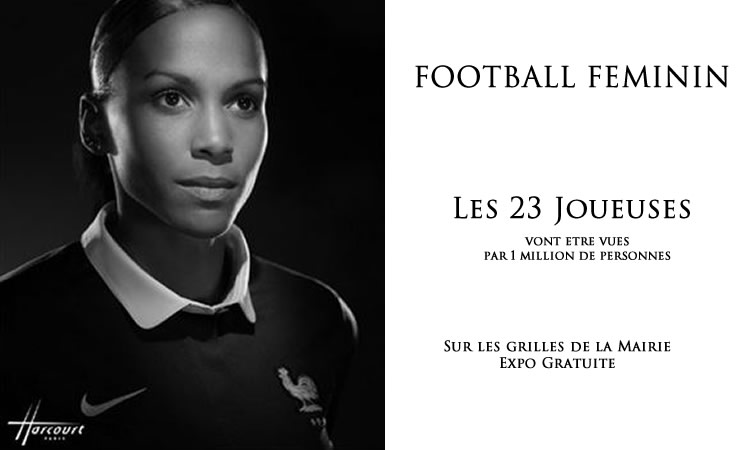 Harcourt Studio jette son regard sur l'équipe de France féminine.