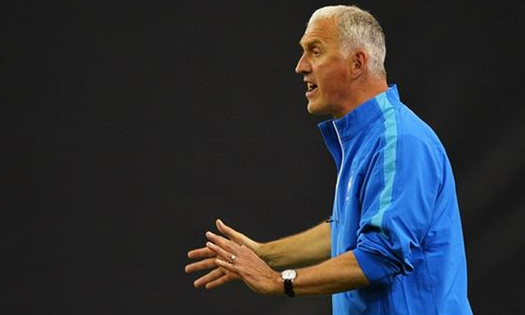 Philippe Bergerôo, sélectionneur des bleues jusqu'en 2017.
