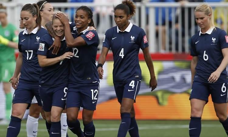 Les françaises peuvent entrevoir les 1/8 avant le dernier match (France – Colombie)