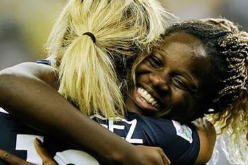 Griedge M'Bock et Claire Lavogez se retrouvent à l'Olympique Lyonnais. lesfeminines.fr
