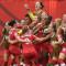 Le canada avance pas-à-pas mais groupé. Crédit FIFA. lesfeminines.fr