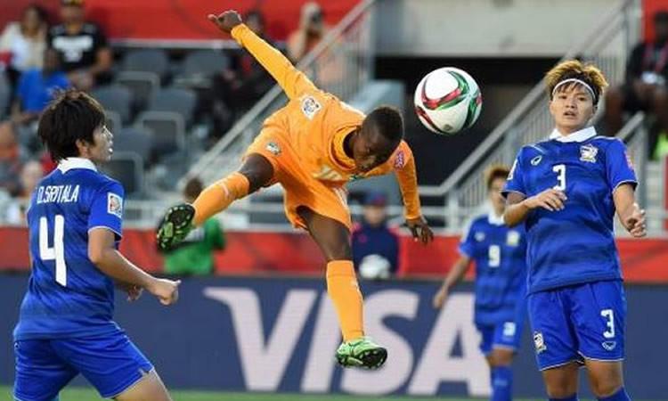Ange Nguessan, 24 ans, côte d'Ivoire. 1m40 de talents incroyable. Crédit l'équipe.fr. Lesfeminines.fr