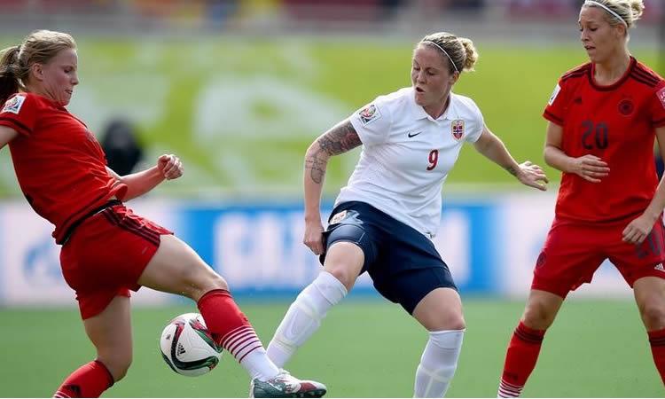 Allemagne – Norvège : la Norvège égalise sur un superbe coup franc (1-1)