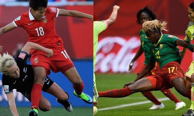 2è 1/8è de finale : Chine Vs Cameroun. L'impétuosité camerounaise face à la Chine bondissante.