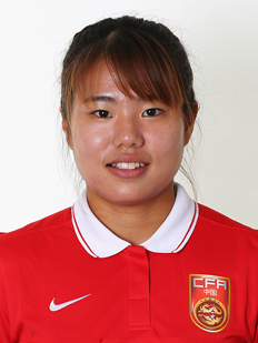 WAng Lisi, jeune joueuse chinoise. Crédit FIFA. Lesfeminines.fr