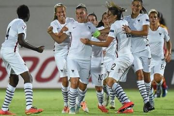 La France ouvre le score mais perd aux tirs au but. Crédit fff.fr lesfeminines.fr