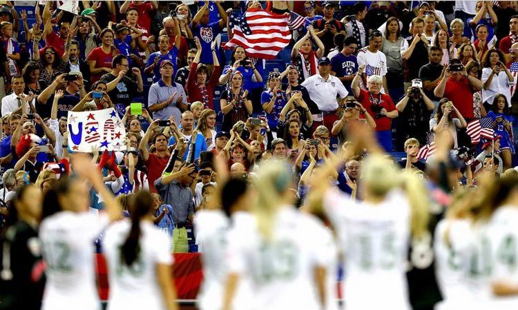 Les États-Unis, à la maison, se jouent des allemandes et sont en finale de leur Mondial.