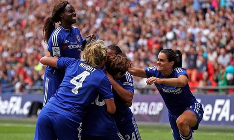 FA 2015 – Chelsea Ladies remporte la Coupe et son premier titre