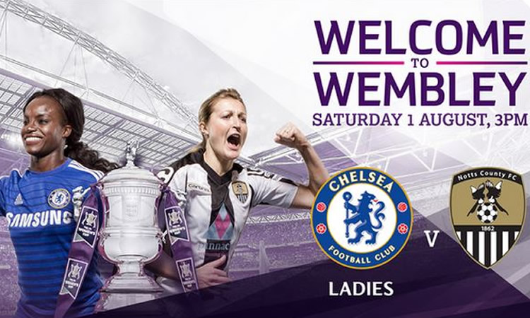 FA CUP final 2015 – Notts County Ladies Vs Chelsea FC